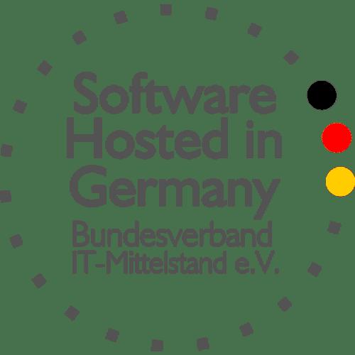 Siegel: Software Hosted in Germany - Bundesverband IT-Mittelstand e.V.