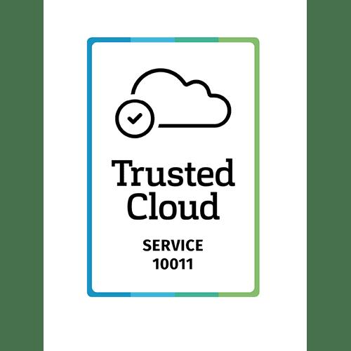Zertifikat Trusted Cloud 10011